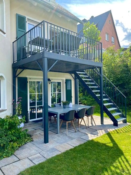 14. Professioneller Balkonbau Würzburg Schöne Balkone aus Stahl und Edelstahl bei Duran Wagner -